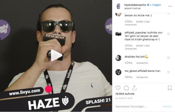 Blog Live Streaming Mainfilm Filmproduktion Frankfurt Shoutout Haze