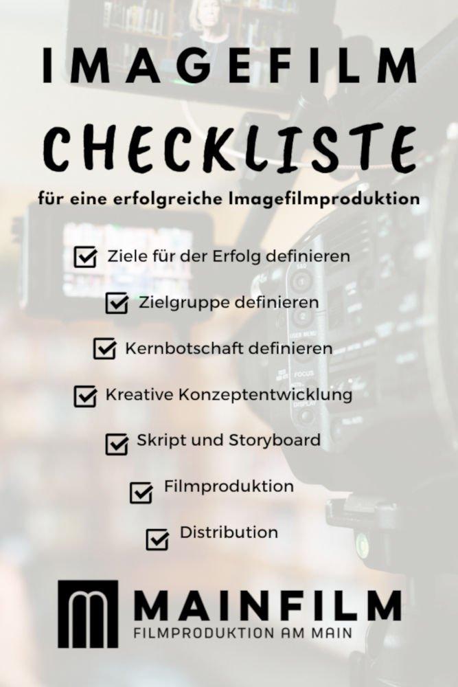 Imagefilm Checkliste