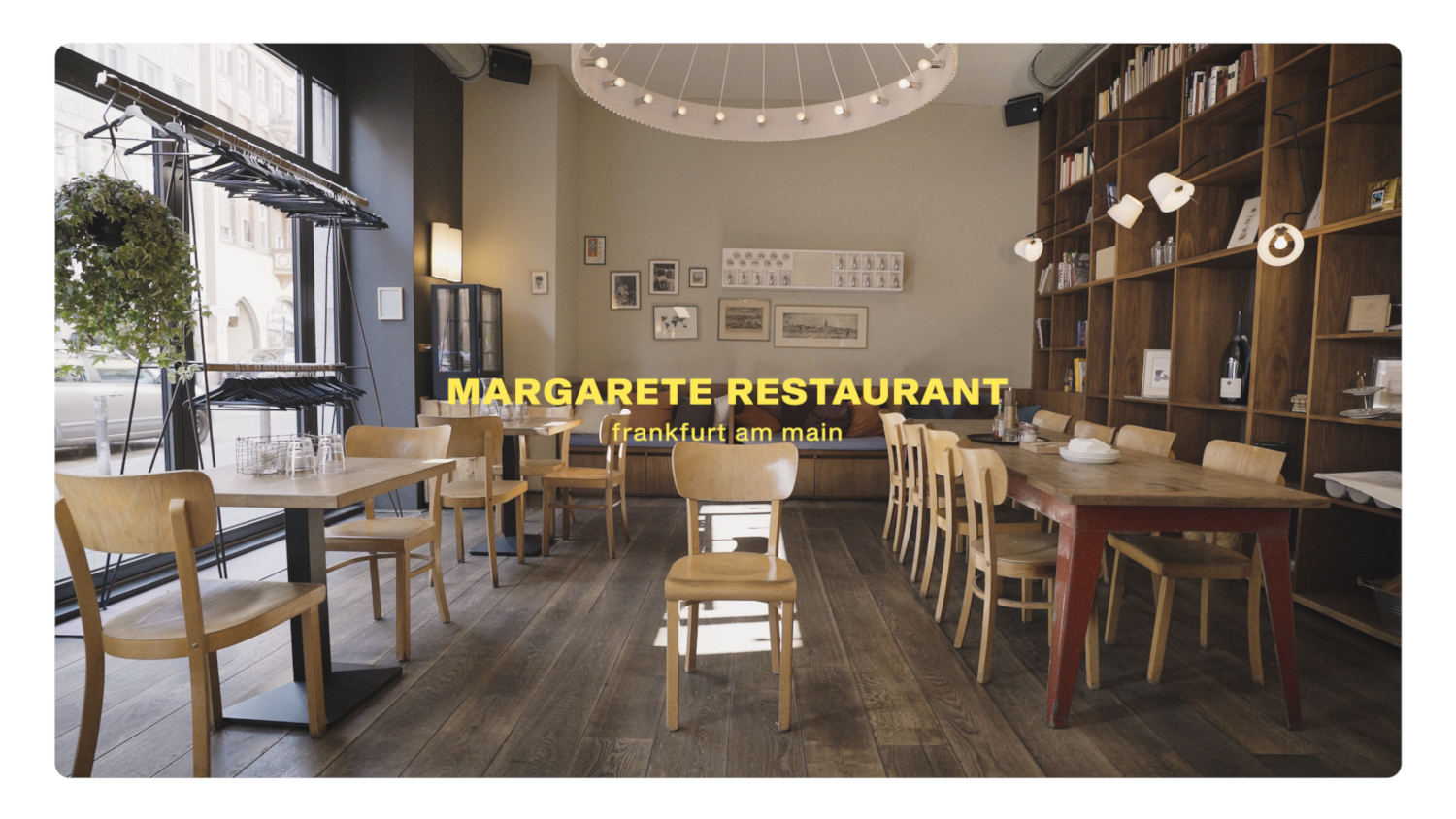 Margarete Restaurant Frankfurt am Main