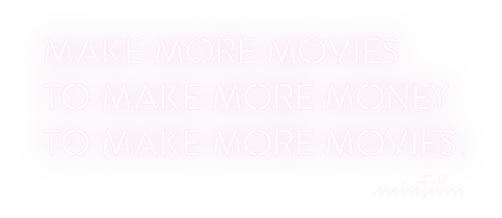 Make More Movies to Make More Money