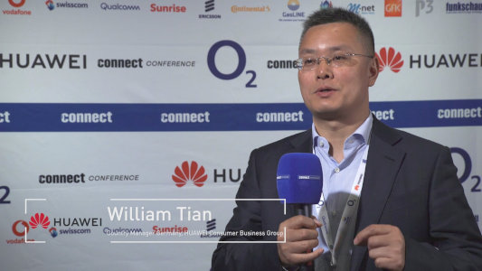 Interview Video Filmproduktion Frankfurt Connect Conference Huawei 2018