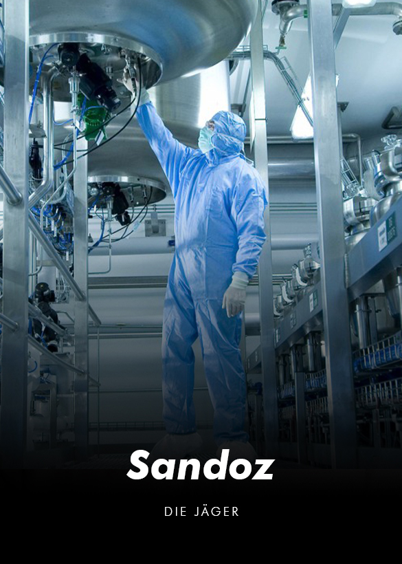 """Das Cover von dem Testimonial Video """"Sandoz"""", produziert von der Videoagentur Mainfilm"""