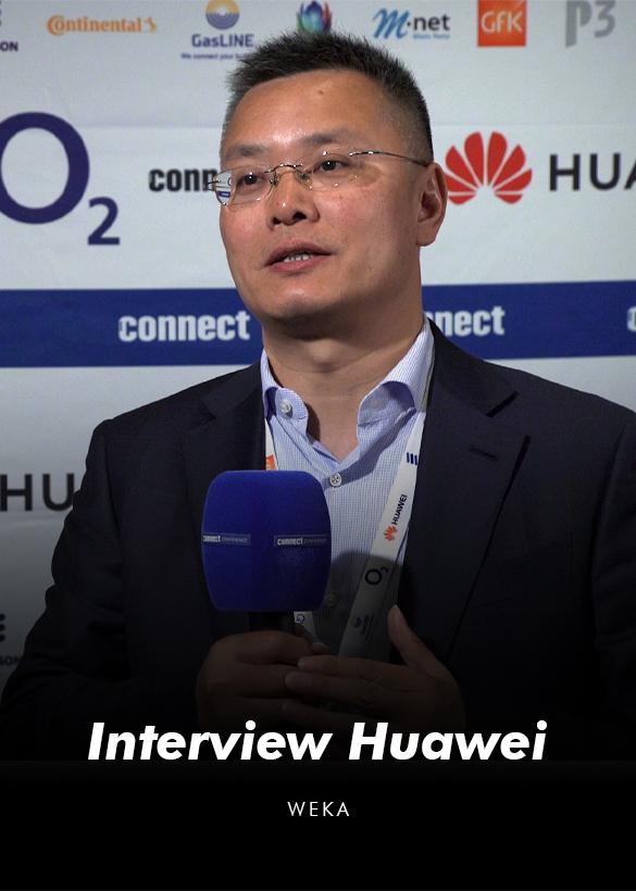 Das Cover von dem Video Interview mit William Tian von Huawei, produziert von der Filmproduktionsfirma Mainfilm