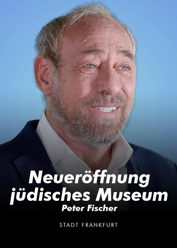 Das Cover von dem Video Interview im Rahmen der Neueröffnung des jüdischen Museums, produziert von der Videoproduktion Mainfilm