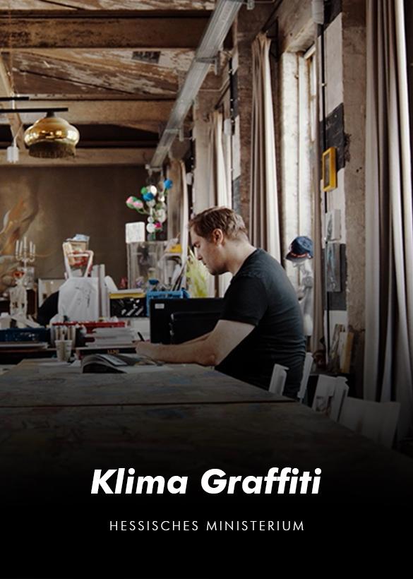 """Das Cover von dem Imagefilm """"Klima Graffiti"""", produziert von der Videoagentur Mainfilm"""