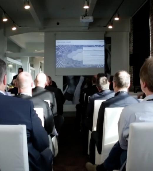 Ein Ausschnitt einer Virtuellen Hauptversammlung, produziert von dem Live Streaming Anbieter Mainfilm