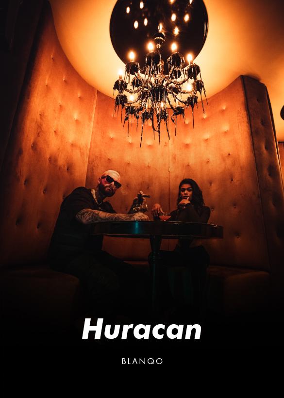 Das Cover von dem Musikvideo für den Künstler Blanqo, produziert von der Videoagentur Mainfilm